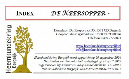 index de keersopper
